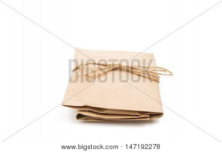 gift bag front, texture, grocery, kraft, background, package, single, isolated, mall, copy, white, merchandise, retail, recycled, on a white background
