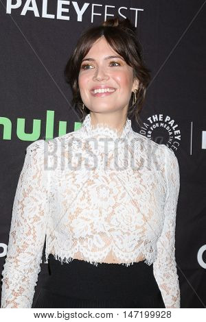 LOS ANGELES - SEP 13:  Mandy Moore at the PaleyFest 2016 Fall TV Preview - NBC at the Paley Center For Media on September 13, 2016 in Beverly Hills, CA