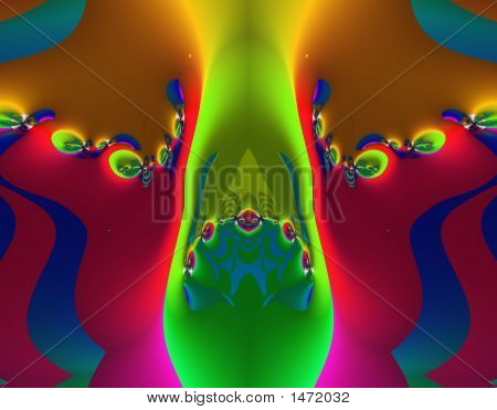 Stock Image Of Alien Fractal Art