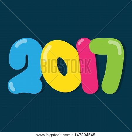 happy new year Two thousand and seventeen.