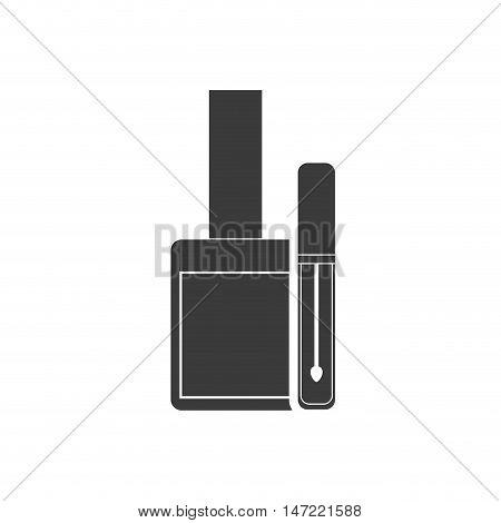 nails polish makeup product vector illustration design