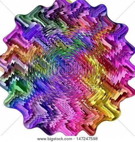 Amazing circle as abstract coloring background of the abstract gradient with visual mosaic,wave and mosaic effects