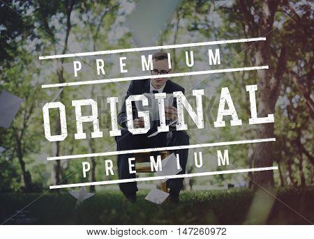 Premium Business Original Concept