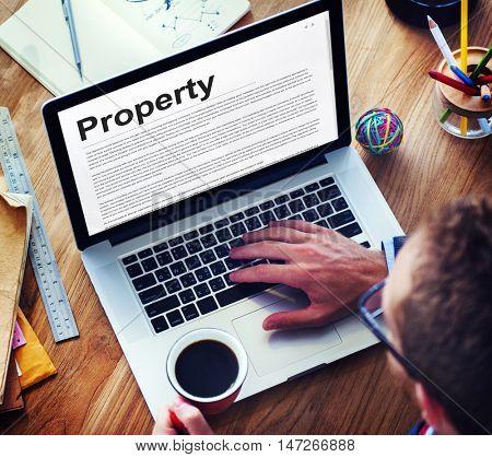 Property Release Form Assets Concept