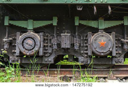 Soviet Railroad Artillery System Details