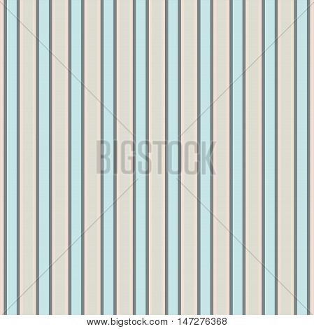 Bright pinstripe pattern in pastel tones. Vector image.