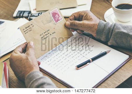 Letter Mail Message Communication Connection Concept