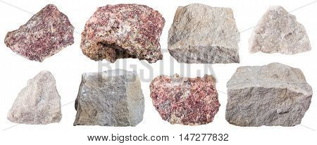 Collection From Specimens Of Dolomite Stone