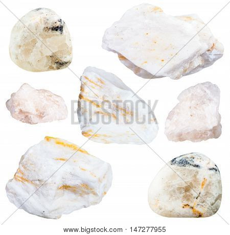 Collection From Specimens Of Barite Ore