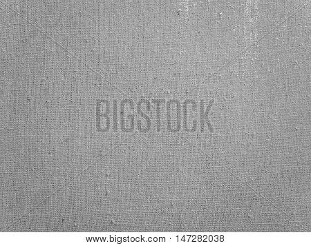 Grey Burlap Background