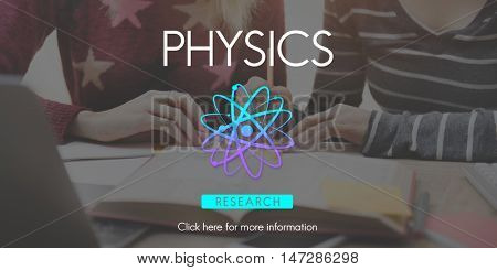 Physics LEsson Study Education Molecule Concept