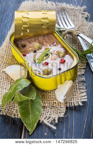 Light Tuna In Olive Oil Canned