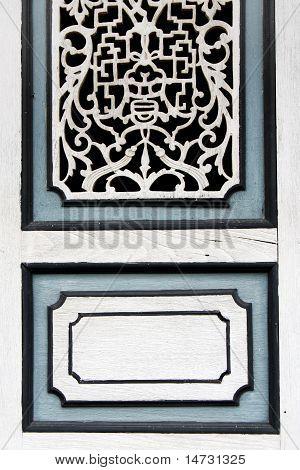 Thai House Window