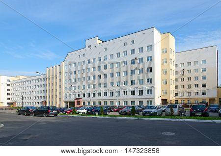 VITEBSK BELARUS - JULY 13 2016: Vitebsk State Order of Peoples' Friendship Medical University Belarus