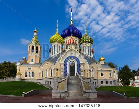 Moscow, Russia - September 12, 2016: Church Of The Transfiguration In Peredelkino
