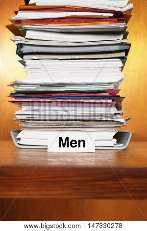Overflowing Inbox for men