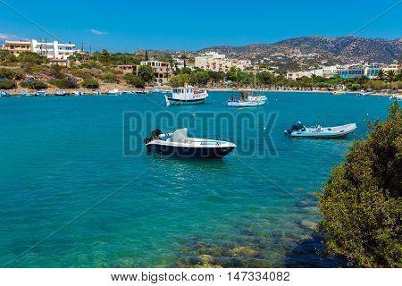 Agios Nikolaos City, Crete, Greece