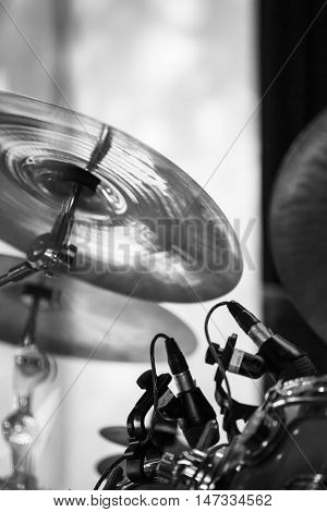 Cymbals As A Part Of Drum Set