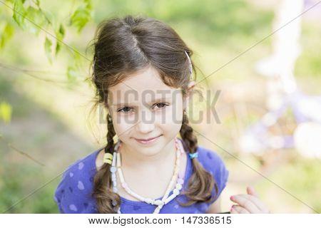 Six years girl