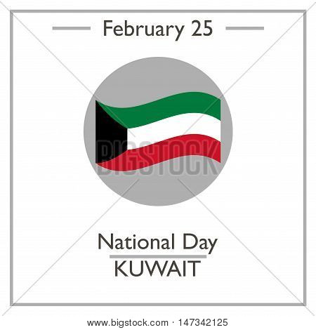 National Day Of Kuwait. February 25