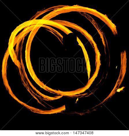 Gasoline Dance Flaming Trails