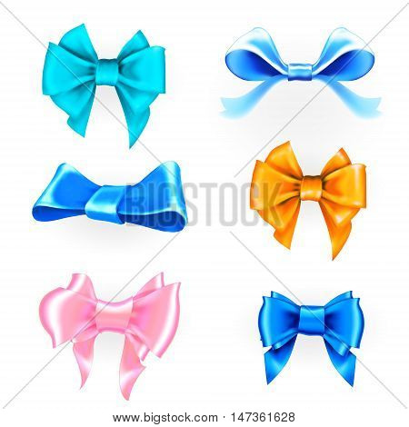 bow ribbon gift vector christmas, gift, bow, title, label, abstract