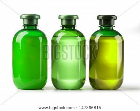 Three Cosmetic Bottles