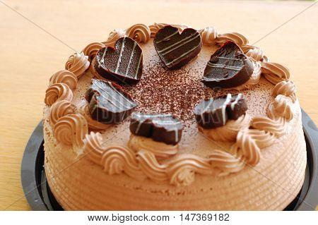 Chocolate Cake Mousse Desert