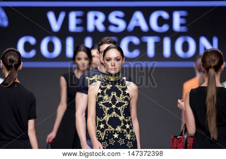 Sofia Fashion Week Female Versace