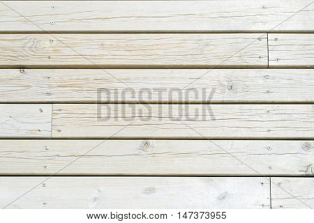 White wooden planks side by side vintage