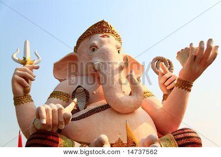 Ganesh, Wat Thai, Nakhon Nayok In Thailand