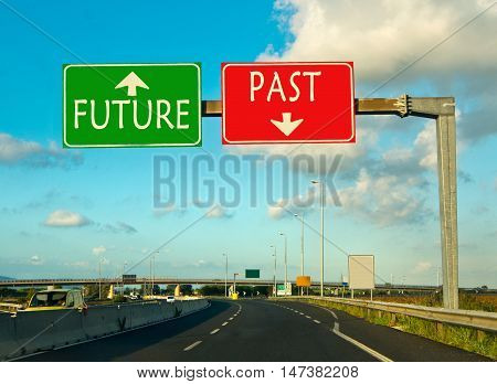past or future? go back or running back? the difficult moment of choice