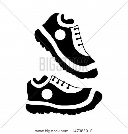 Womens sneakers icon in simple style isolated on white background. Wear symbol vector illustration