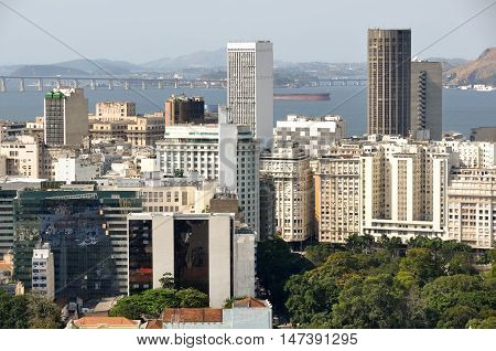 Skyscrapers of Rio de Janeiro Financial Center