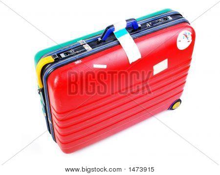 Bunte Gepäck