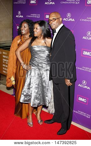 LaTanya Richardson and Samuel L. Jackson at the 23rd Annual American Cinematheque Award Ceremony Honoring Samuel L. Jackson held at the Beverly Hilton Hotel in Beverly Hills, USA on December 1, 2008.