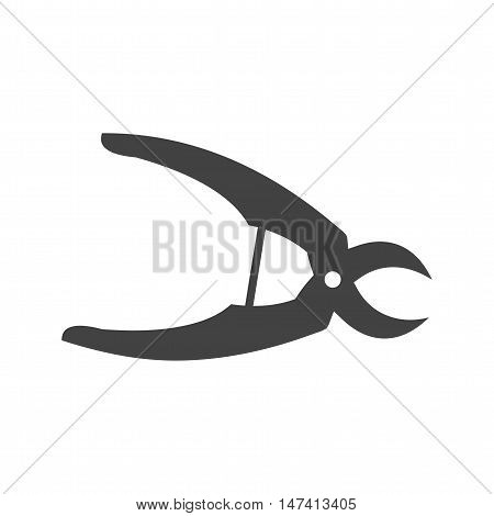 Pliers, tool, metal icon vector image. Can also be used for farm. Suitable for use on web apps, mobile apps and print media.