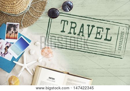 Holiday Vacation Traveling Destination Tourism Concept