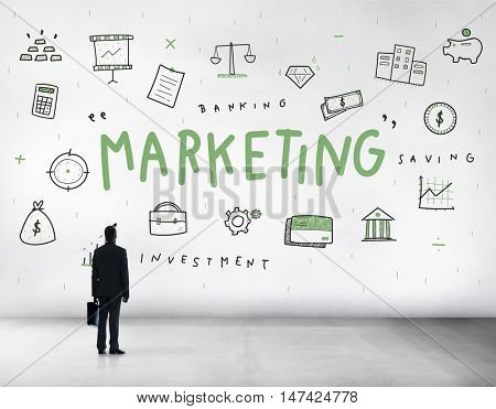 Marketing Brand Comercial Strategy Business Concept