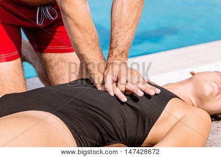 Lifeguard Rescue Procedure