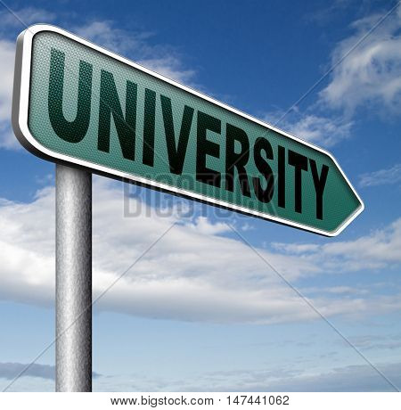 University education and graduation study application grant or scholarship campus choice  3D illustration