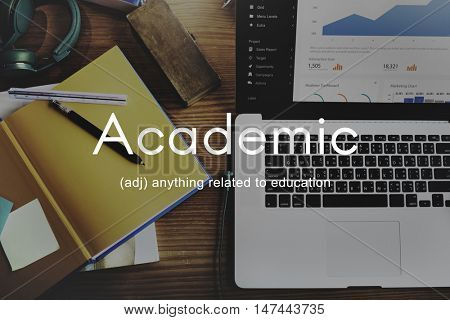 Academic College Degree Education Learning Concept