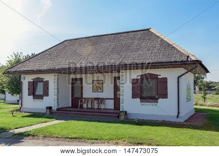 Old house from a small Ukrainian village