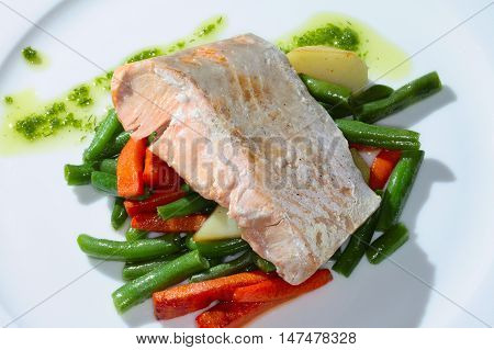 Fish With Vegetables