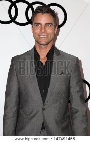 LOS ANGELES - SEP 15:  Colin Egglesfield at the Audi Celebrates The 68th Emmys at the Catch on September 15, 2016 in West Hollywood, CA