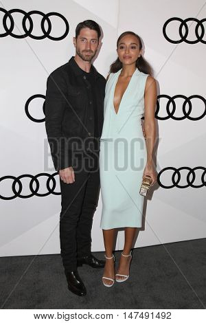 LOS ANGELES - SEP 15:  Iddo Goldberg, Ashley Madekwe at the Audi Celebrates The 68th Emmys at the Catch on September 15, 2016 in West Hollywood, CA