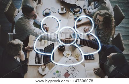 Team Leadership Partnership Concept
