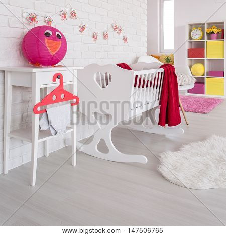 This Is Where The Baby Will Sleep
