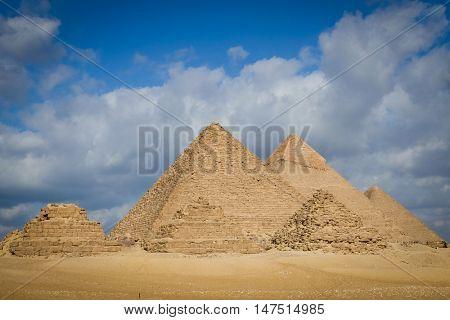 Giza Pyramids- Cairo, Egypt