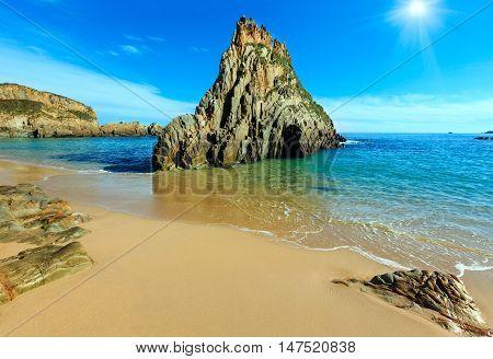 Sunshiny Mexota Beach (spain).